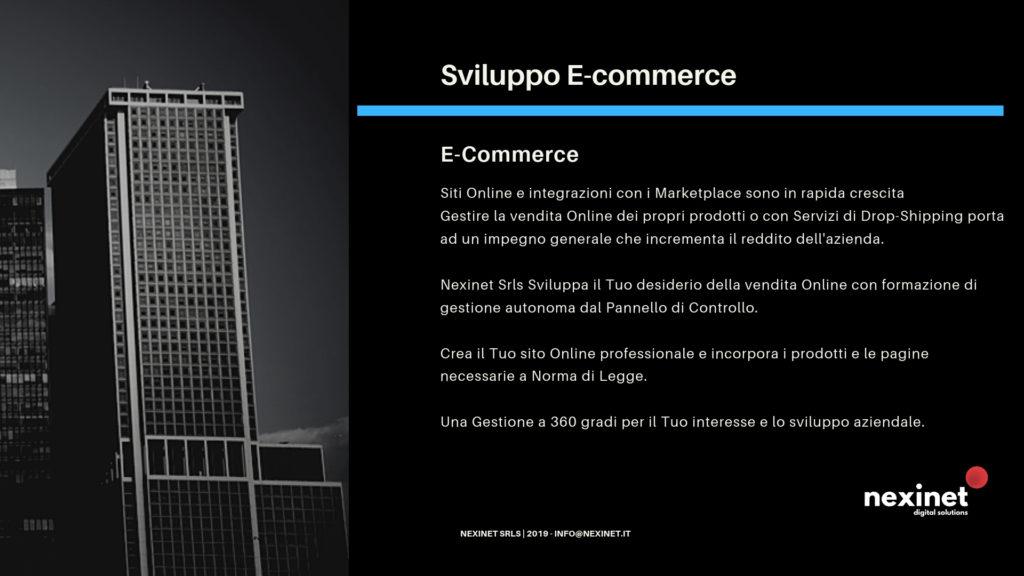 Sviluppo e Gestione E-commerce